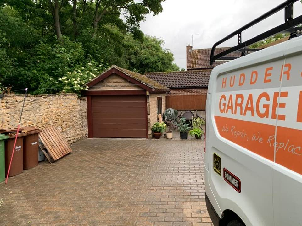 electric garage doors Huddersfield