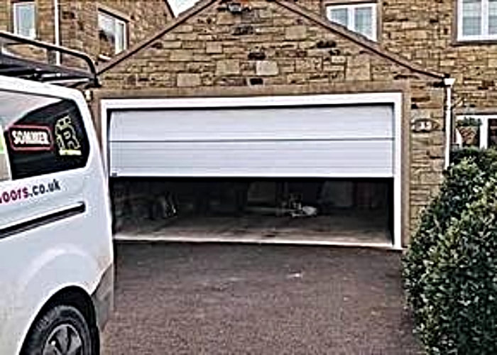 Electric garage door motor Huddersfield